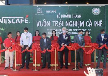 Nestle inaugurates Coffee Farm Experience Center in Buôn Ma Thuột